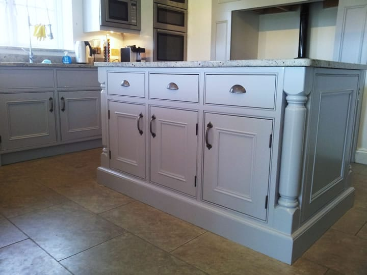 Hand Painted Kitchen Cabinets