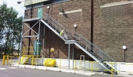 Commercial Metal Staircase Chadwell Heath 1