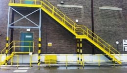 Commercial Metal Staircase Chadwell Heath 2