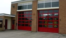 Commercial Outside Fire Station Halstead 1
