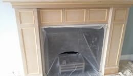 Feature Hand Painted Fireplace Upminister Residential A