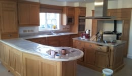 Hand Painted Kitchen Ongar A
