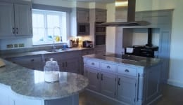 Hand Painted Kitchen Ongar B