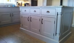 Hand Painted Kitchen Ongar F